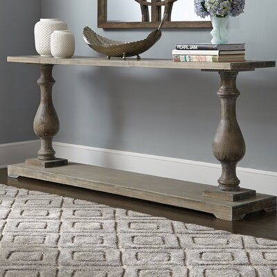 One Allium Way Champaign Console Table