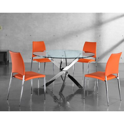 Wade Logan Fabiano 5 Piece Dining Set