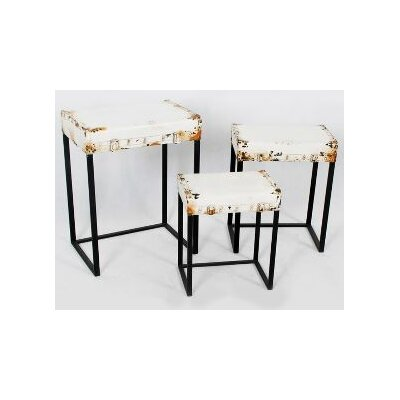TLC Home Harrison 3 Piece Nesting Tables