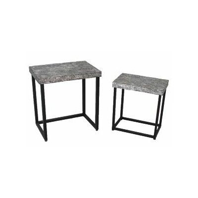 TLC Home Purcell 2 Piece Nesting Tables