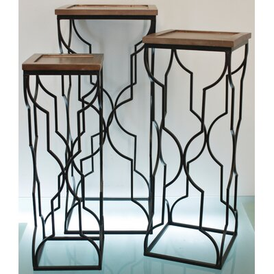 TLC Home Shelby 3 Piece Nesting Tables