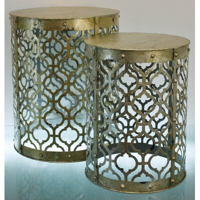 TLC Home Sloan 2 Piece Nesting Tables
