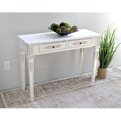 International Caravan Windsor Console Table