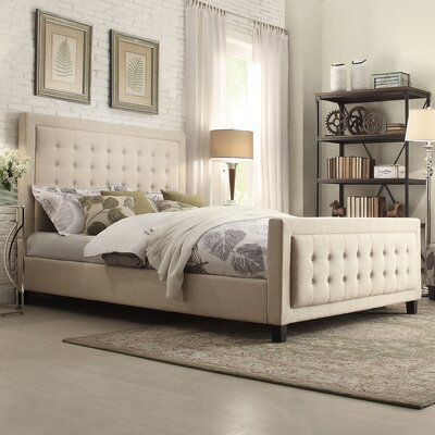 Kingstown Home Aurelia Upholstered Panel Bed