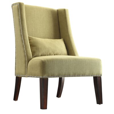 Three Posts Morgantown Wingback Chair in ..