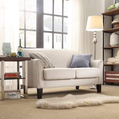 Darby Home Co Crawford Modern Loveseat