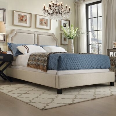 House of Hampton Thirsk King Upholstered Panel Bed
