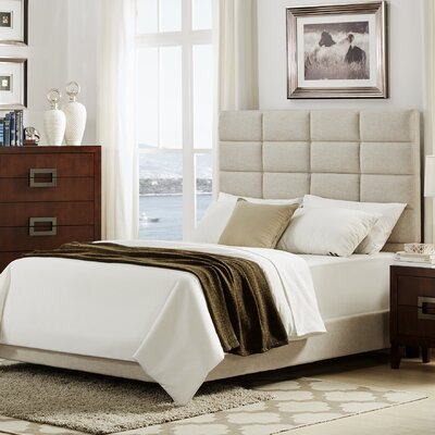 Mercury Row Breland Upholstered Panel Bed