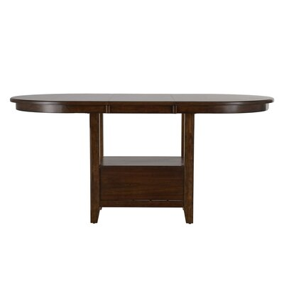 Three Posts Ellicott Counter Height Extendable Dining Table