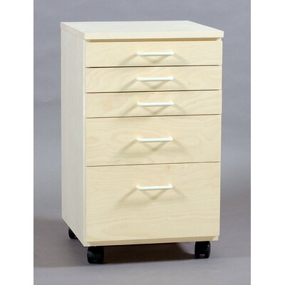 SMI Products Vanguard 5 Drawer Vertical File