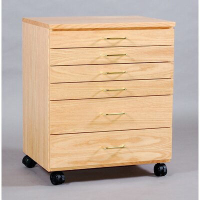 SMI Products Vanguard 6 Drawer Lateral File