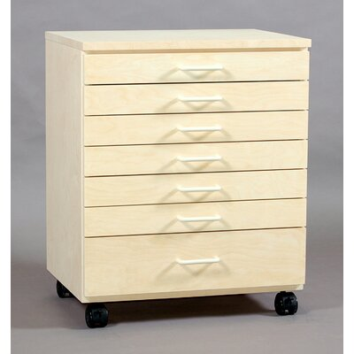 SMI Products Vanguard 7 Drawer Vertical File
