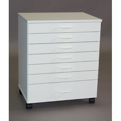 SMI Products Vanguard 7 Drawer Lateral File