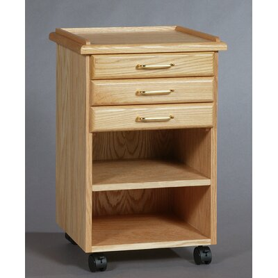 SMI Products Classic 3 Drawer Vertical File