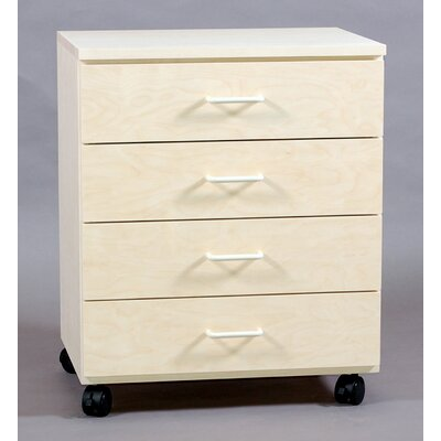 SMI Products Vanguard 4 Drawer Vertical File