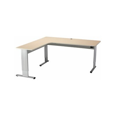 Populas Furniture Infinity Adjustable L-Shape Desk