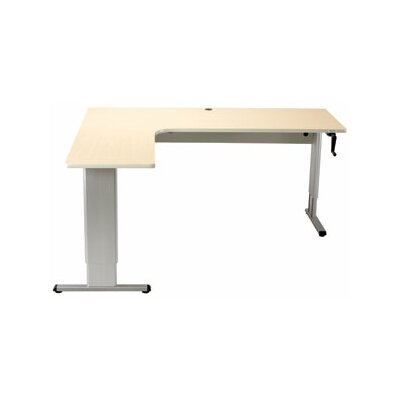 Populas Furniture Accella Wrap Corner Standing Desk