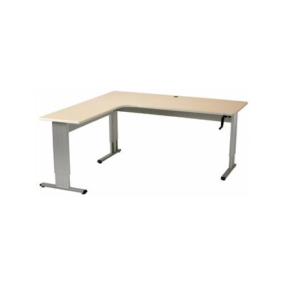 Populas Furniture Accella Adjustable L-Shape Desk