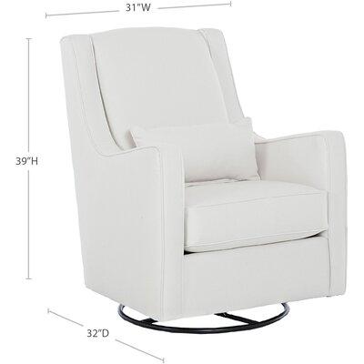 Wayfair Custom Upholstery Nora Swivel Glider