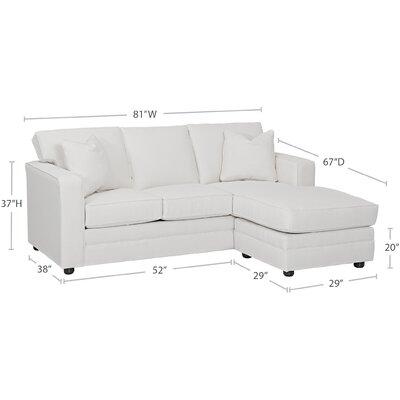 Wayfair Custom Upholstery Andrew Reversible Chai..
