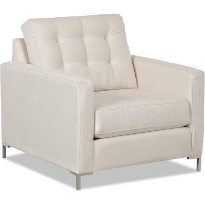Wayfair Custom Upholstery Harper Armchair with Metal Legs