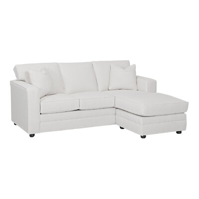 Wayfair Custom Upholstery Andrew Reversible Chaise Sectional