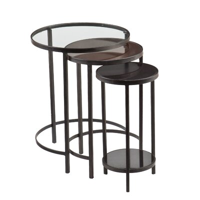Holly & Martin Ocelle 3 Piece Nesting Table Set