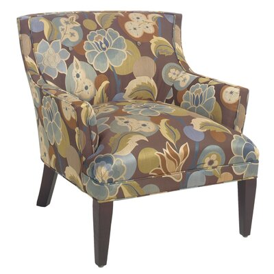 Classic Comfort Button Back Arm Chair
