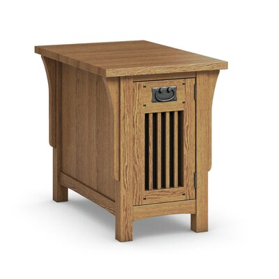 Caravel FLW Chairside Table With Drawer