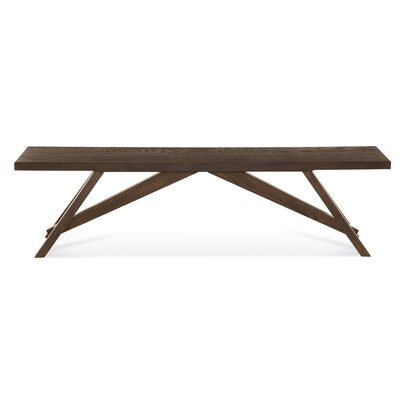 Saloom Furniture Lenox Wood Kitchen Bench