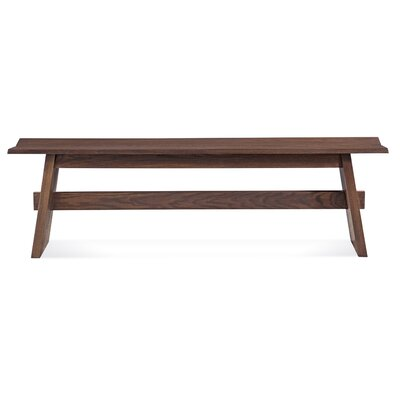 Saloom Furniture Split Base Wood Kitchen Bench