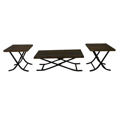 Bombay 3 Piece Coffee Table Set