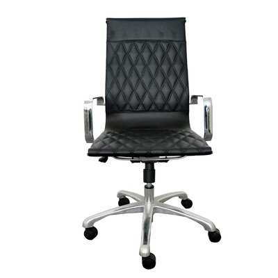 Woodstock Marketing Annie High-Back Executive Chair with Arms