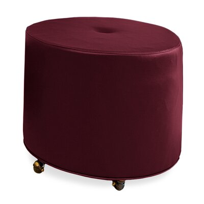 Tory Furniture Mondo Upholstered Round 1-Button Ottoman