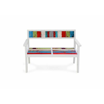 EcoChic Lifestyles Bay Dreamer Reclaimed Wood Bench