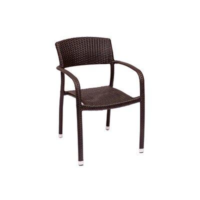 BFM Seating Regis Synthetic Wicker Armchair