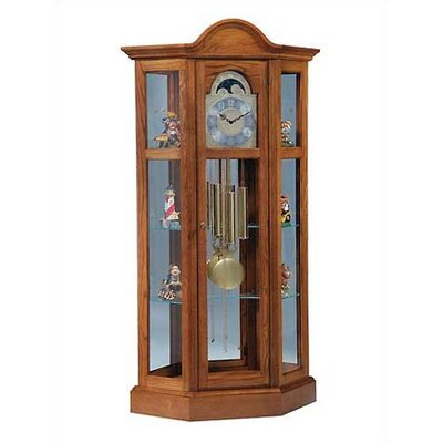 Ridgeway Clocks Traditional Richardson II Corner Curio Cabinet
