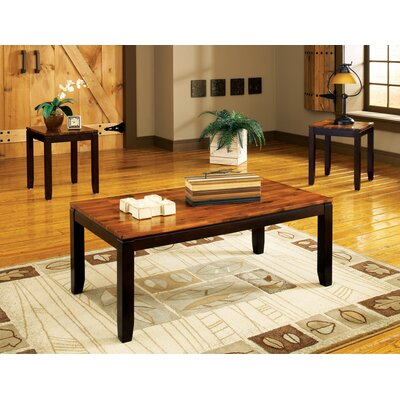 Brady Furniture Industries Edgewood 3 Piece Coffee Table Set