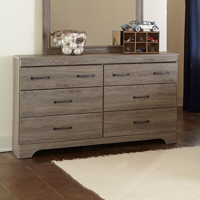 Brady Furniture Industries Logansport 6 Drawer Dresser