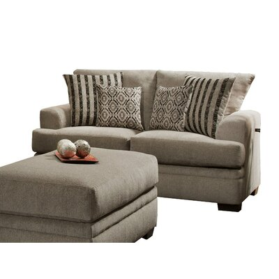 Brady Furniture Industries Main Loveseat