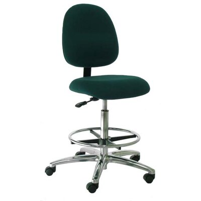 Industrial Seating Mid-Back Bench Height Office Chair