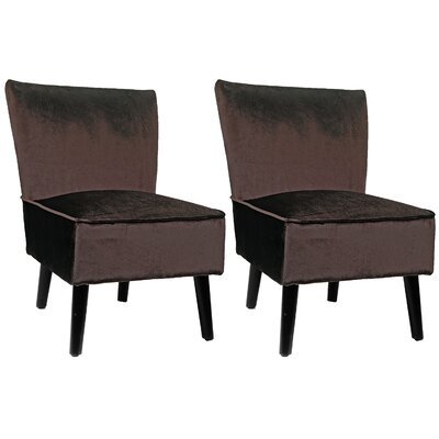 Mercer41 Rugeley Slipper Chair (Set of 2)