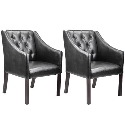 Three Posts Chancey Club Chair (Set of 2)