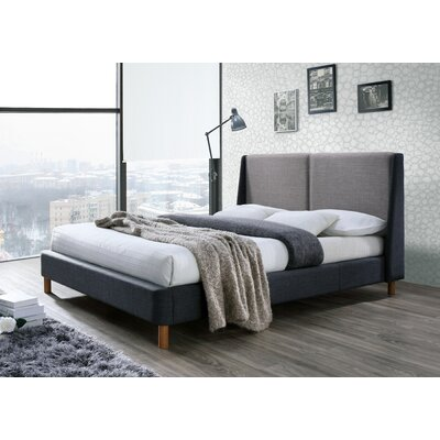 Omax Decor Oliver Upholstered Platform Bed