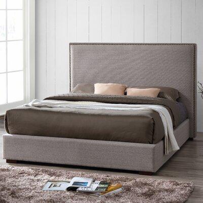 Omax Decor Benjamin Upholstered Platform Bed Image