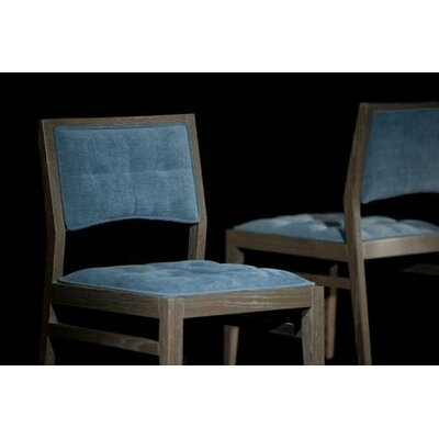 Bienal Swan Quilted Side Chair (Set of 2)