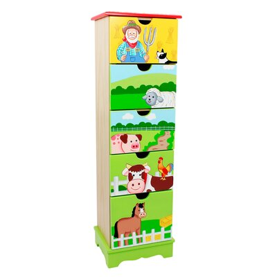 Fantasy Fields Happy Farm 5 Drawer Cabinet