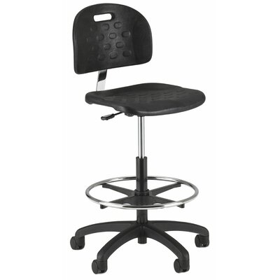 Intensa Height Adjustable Self Skin Laboratory Stool with Twist Lock