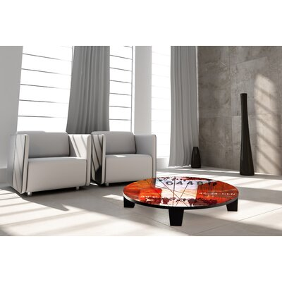 TAF DECOR Hustle and Bustle 2 Coffee Table