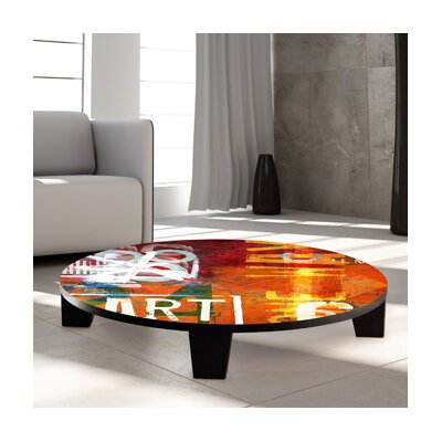 TAF DECOR Art Street Coffee Table